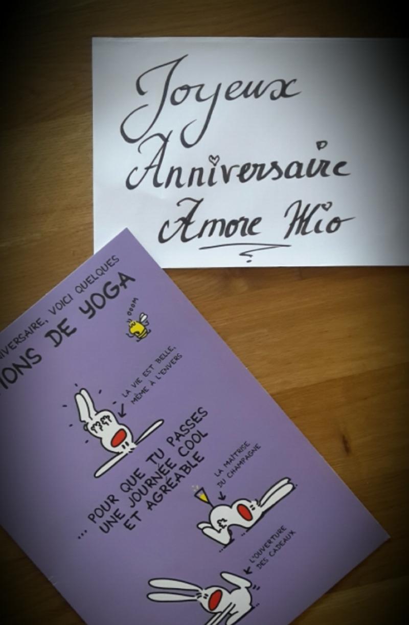 Joyeux Anniversaire Amore Mio Anna Galore Le Blog